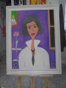 retrato a silke