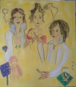 Las tres mosqueteras