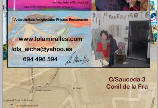 Lola Miralles - El Arte de la Pintura